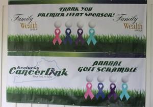 Golf Scramble Banners